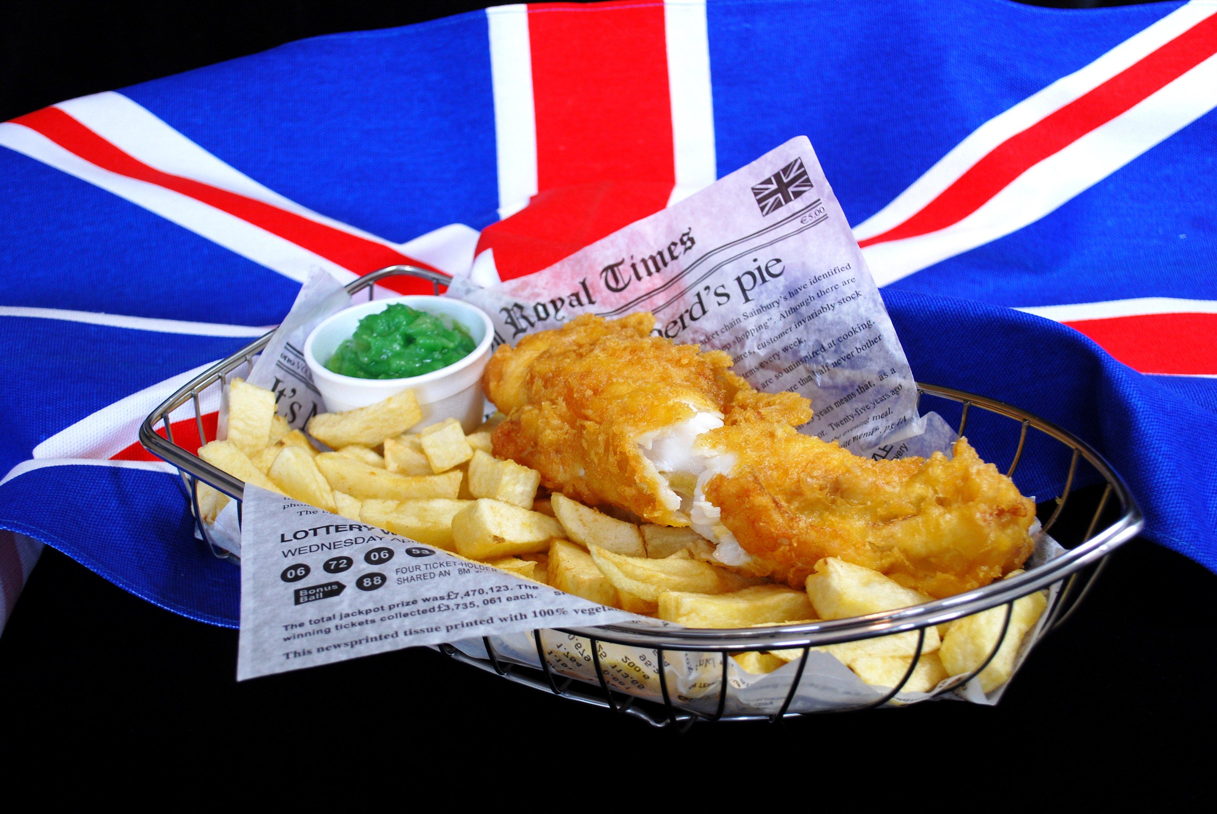 Fish&Chips: il piatto tipico della cucina britannica - 5 Minuti d ...