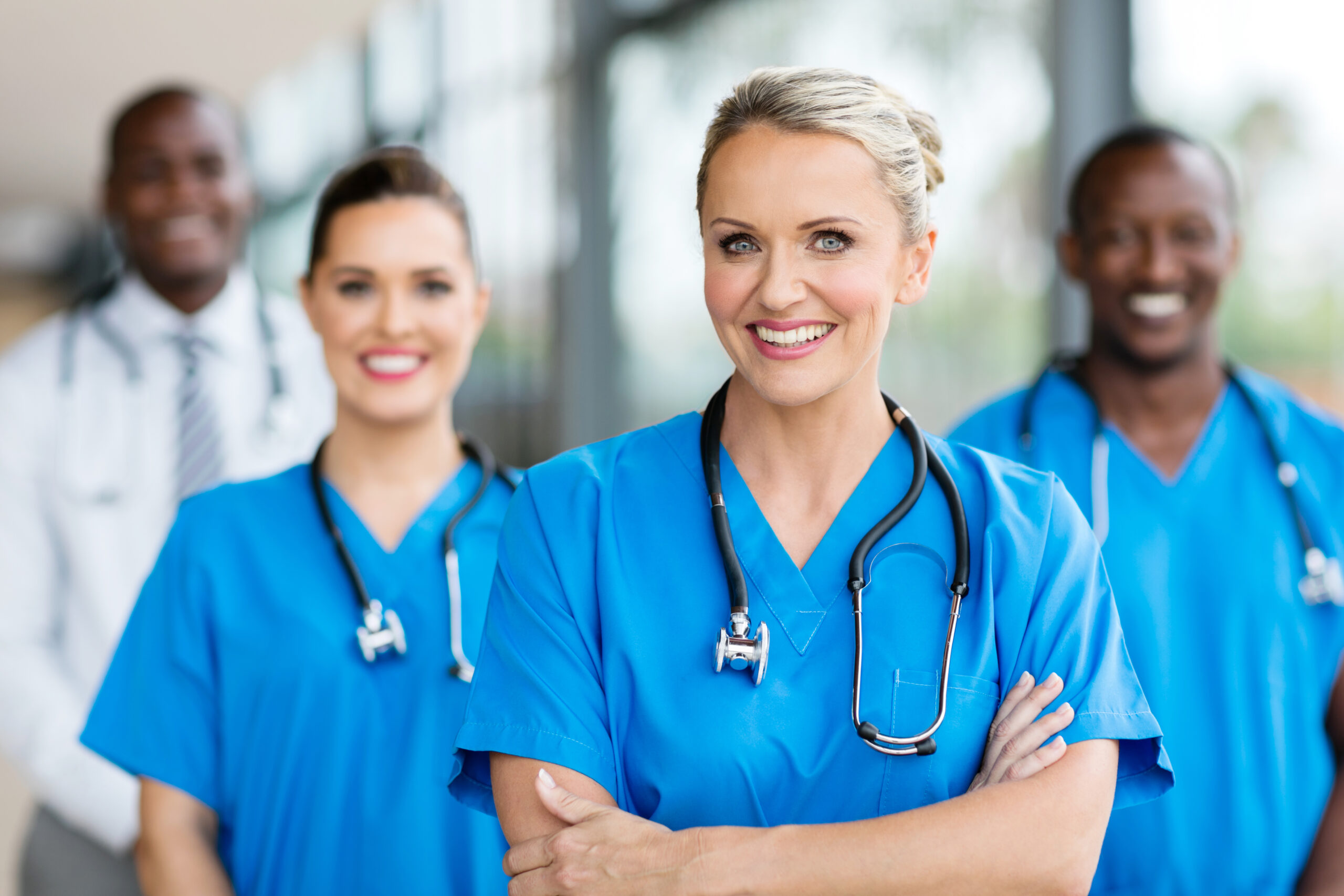 female medical doctor