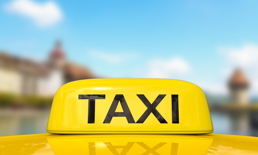 Travelling by taxi - dialogue
