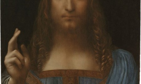 "This image released by 2011 Salvator Mundi LLC, shows a painting believed to be Leonardo da Vinci's Salvator Mundi, c 1500. The painting was reportedly by Da Vinci's student Giovanni Boltraffio but after an extensive restoration, art experts agree that it is one of Da Vinci's lost works. The painting now worth some 192 million USD, was sold in 1958 for 72 USD. London's National Gallery said on July 11, 2011, that it will diplay the painting in the Fall of 2011.   = RESTRICTED TO EDITORIAL USE - MANDATORY CREDIT ""AFP PHOTO / 2011 Salvator Mundi LLC"" - NO MARKETING NO ADVERTISING CAMPAIGNS - DISTRIBUTED AS A SERVICE TO CLIENTS  = / AFP PHOTO / 2011 Salvator Mundi LLC / -"