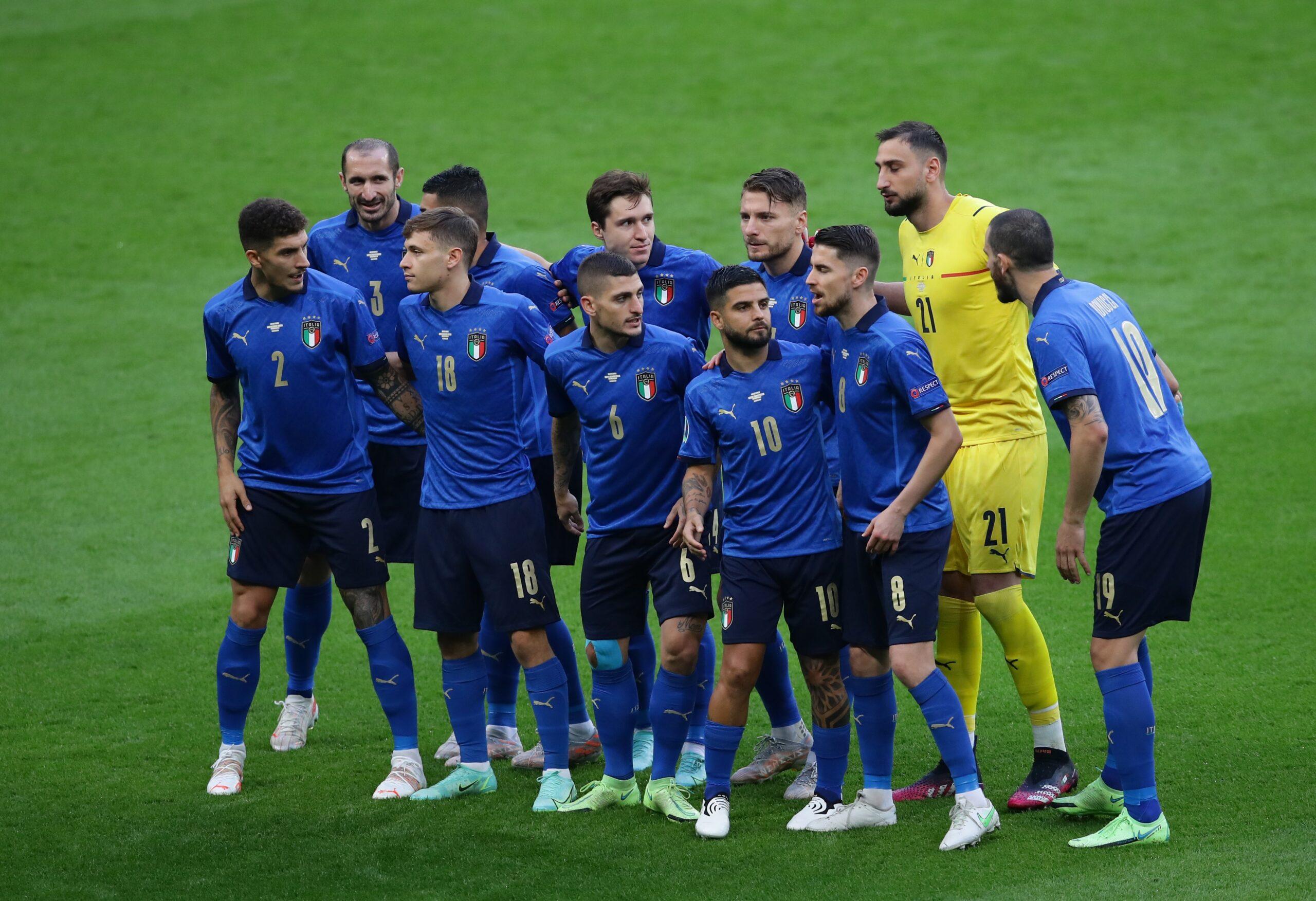Italy v Spain – UEFA Euro 2020 – Semi Final – Wembley Stadium